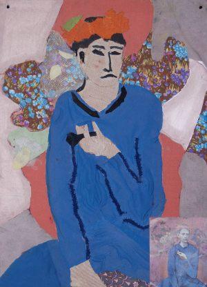 """Joasia Kardyś, 14 lat, Pablo Picasso """"Chłopiec z fajką"""""""
