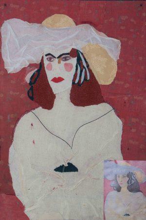 """Kasia Arcimowicz, 13 lat, Henri Matisse """"Białe pióra"""""""