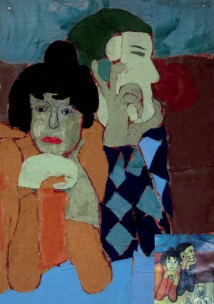 """Kasia Dobosz, Pablo Picasso """"Arlekin i jego przyjaciółka"""""""