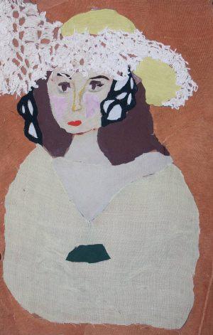 """Kasia Kalicka, 12 lat, Henri Matisse """"Białe pióra"""""""