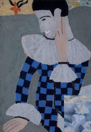"Kasia Mickiewicz, 13 lat, Pablo Picasso ""Arlekin"""