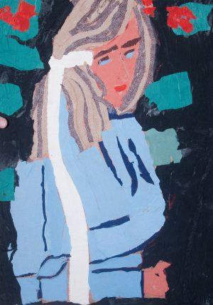 """Marysia Koral, 13 lat, Stanisław Wyspiański """"Portret Elizy Pareńskiej"""""""