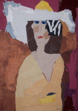 "Michał Pogorzelski, 8 lat, Henri Matisse ""Białe pióra"""