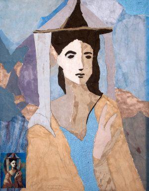 """Monika Kułakowska, 14 lat, Pablo Picasso """"Kobieta w kapeluszu"""""""