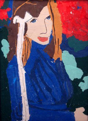"""Renata Jaźwińska, 13 lat, Stanisław Wyspiański """"Portret Elizy Pareńskiej"""""""