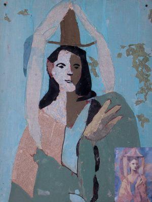 """Zosia Michaowska, 13 lat, Pablo Picasso """"Kobieta w kapeluszu"""""""