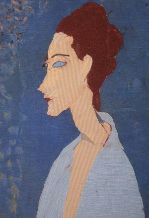 """Amadeo Modigliani """"Portret Luni Czechowskiej"""""""