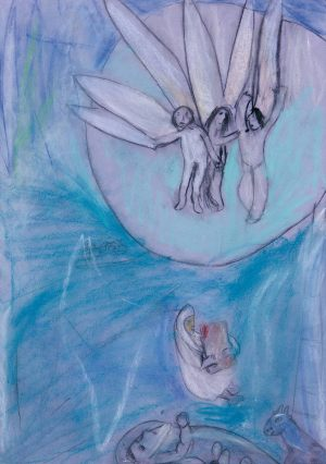 Ada Bołuć, 10 lat, Marc Chagall