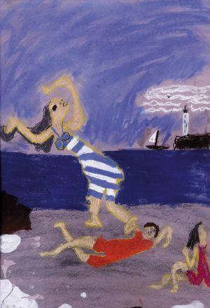 "Antek Fertacz, 8 lat, Pablo Picasso ""Kąpiące się"""