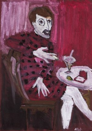 """Klara Wysocka, 12 lat, Otto Dix """"Portret Sylwii von Harden"""""""