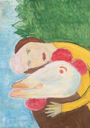 Marysia Waldowska, 10 lat, Marc Chagall