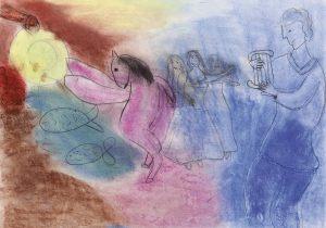 Julka Komorowska, 11 lat, Marc Chagall