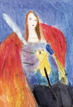 Marysia Wilczek, 9 lat, Marc Chagall