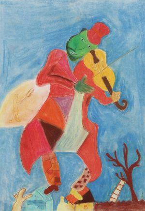 Zula Nowicka, 12 lat, Marc Chagall