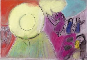 Ewelina Pacult, 9 lat, Marc Chagall