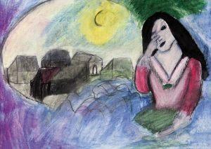 Agnieszka Hohtaubel, 12 lat, Marc Chagall