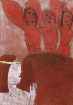 Ula Mierzwa, 8 lat, Marc Chagall