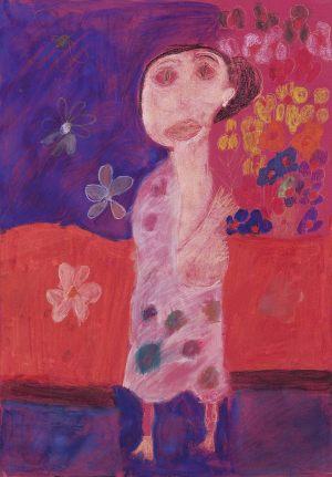 "Zosia Krupa, 7 lat, Kopie_Gustaw Klimt ""Tancerka"""