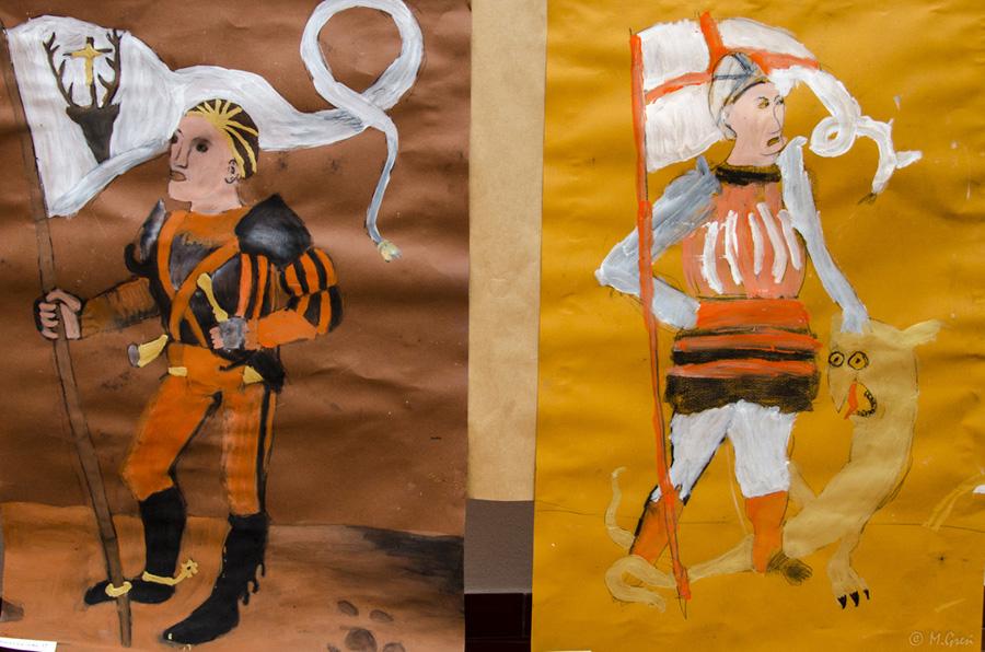 Doroczna wystawa prac dzieci 2013